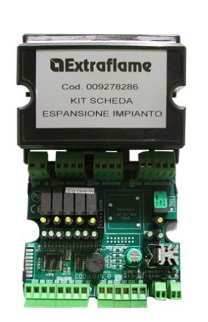 Extraflame Platine-Kit für Anlagenerweiterung